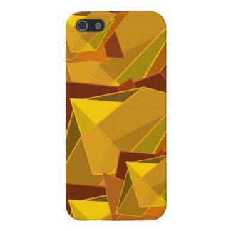 Orange Jagged Phone Case