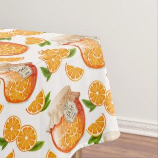 Orange Jam Tablecloth