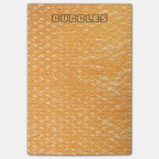 Orange Juice Pop Bubble Wrap Soda Post-it® Notes
