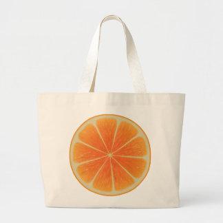 Orange Jumbo Tote Jumbo Tote Bag