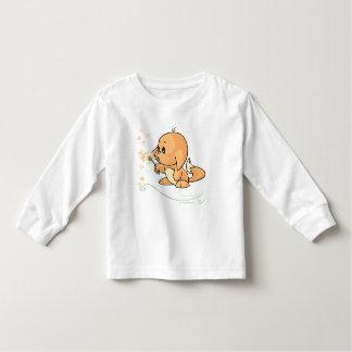 Orange Kacheek wishing on a dandelion Toddler T-Shirt