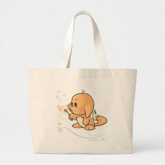 Orange Kacheek wishing on a dandelion Jumbo Tote Bag