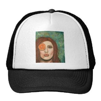 orange kiss cap