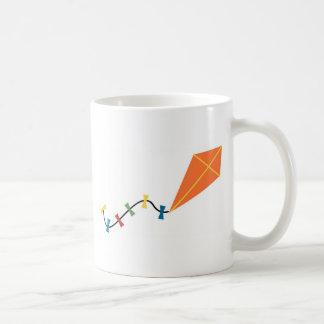 Orange Kite Coffee Mugs