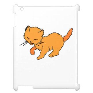 Orange Kitten iPad Covers