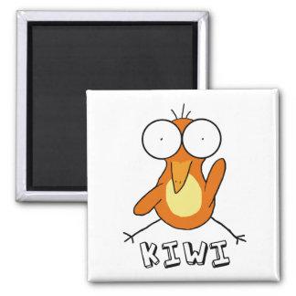 Orange Kiwi Magnet