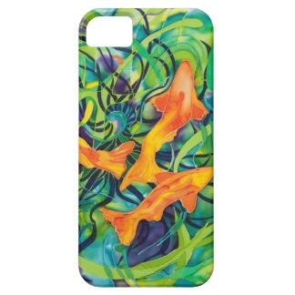 Orange Koi Case For The iPhone 5