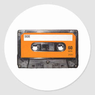 Orange Label 80's Cassette