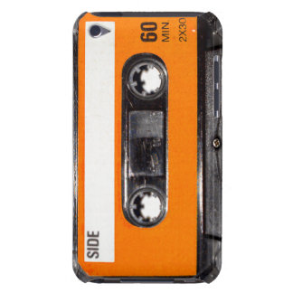 Orange Label 80's Cassette Barely There iPod Cover