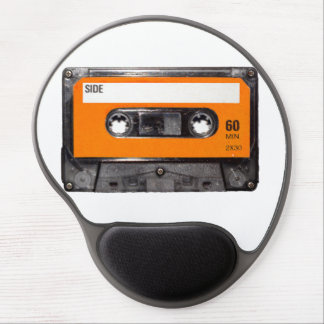 Orange Label Cassette Gel Mouse Pad
