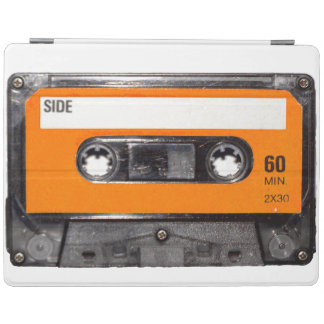 Orange Label Cassette iPad Cover