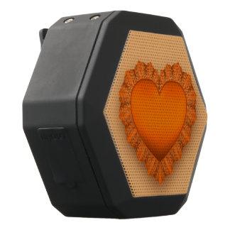 Orange Lace Heart Customizable