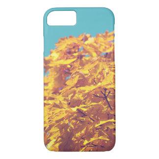 Orange leaves iPhone 8/7 case