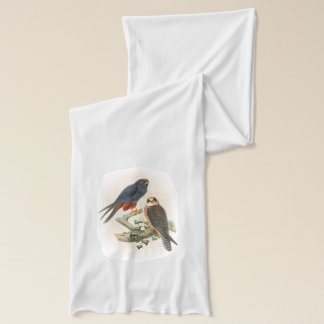 Orange-legged Hobby Falcon Gould Birds of Britain Scarf