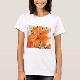 Orange Lilies: Flowers: T-Shirt