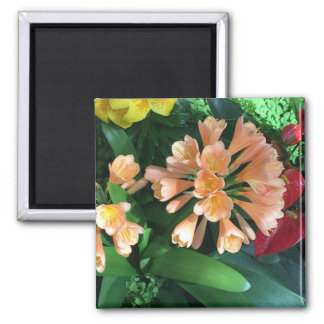Orange Lilly Magnet