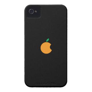 orange logo Custom iPhone 4/4S ID Case