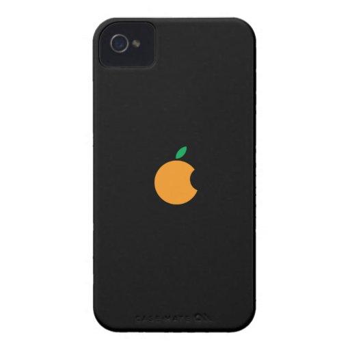orange logo Custom iPhone 4/4S ID Case iPhone 4 Cover