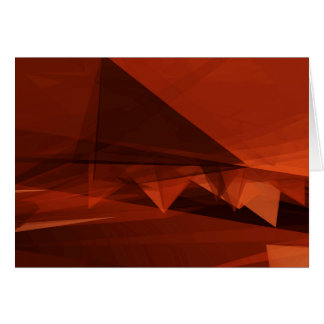 Orange Low Poly Background Design Artistic Pattern Card