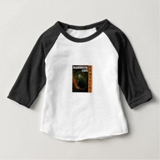 Orange mammoth cave art baby T-Shirt