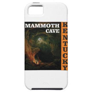 Orange mammoth cave art iPhone 5 case