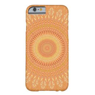 Orange mandala barely there iPhone 6 case