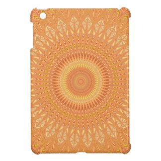 Orange mandala case for the iPad mini