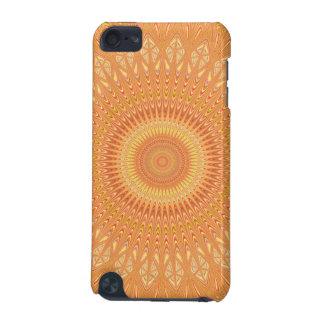 Orange mandala iPod touch (5th generation) covers