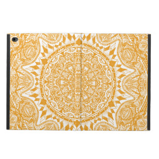 Orange mandala pattern powis iPad air 2 case