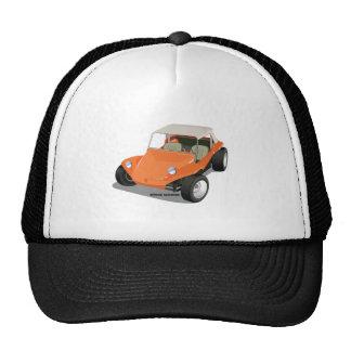 Orange Manx Only Mesh Hat