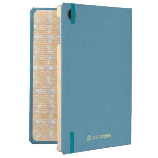 Orange Marmalade iPad Air DODOcase, Sky Blue Cover iPad Air Case