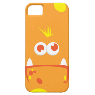 Orange Monster Face iPhone Case iPhone 5/5S Covers