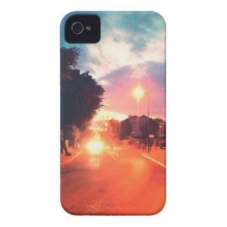 Orange morning iPhone 4 case