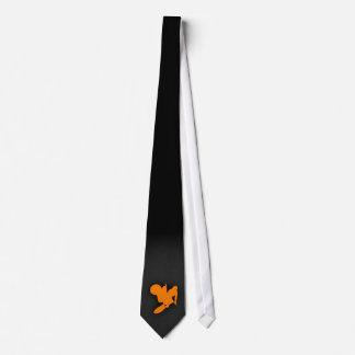 Orange Motocross Tie
