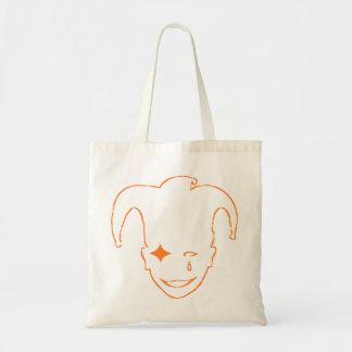 Orange MTJ Budget Tote Bag
