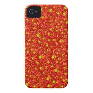 Orange Mums iPhone 4 Case-Mate Case