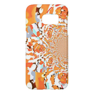 Orange Nebula Samsung Galaxy 7