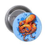 orange octopus button