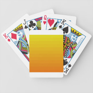 ORANGE OMBRE BICYCLE PLAYING CARDS