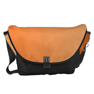 Orange Ombre Messenger Bags