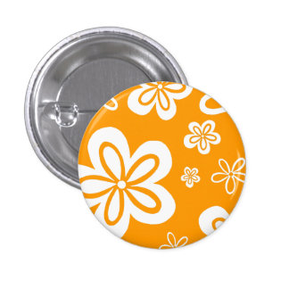 Orange Oopsy-Daisy Pin