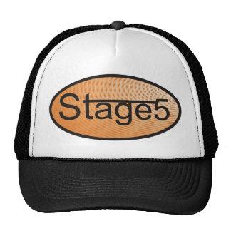 Orange Oval Hat