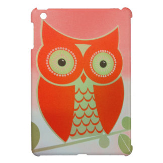 ORANGE OWL Case Savvy Glossy iPad Mini Case
