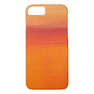 Orange Paint Canvas Case