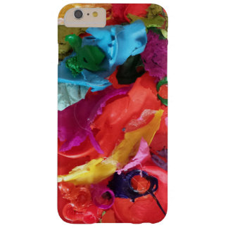 orange paint skins mini assemblage barely there iPhone 6 plus case