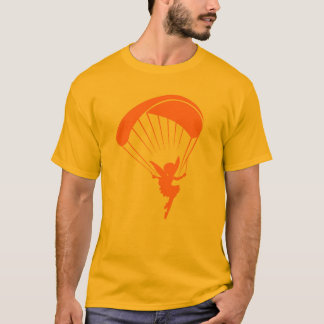 Orange Paragliding Pixie Tshirt