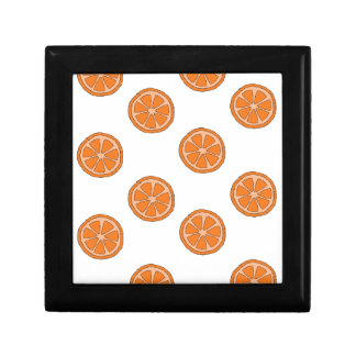 Orange Pattern Gift Box