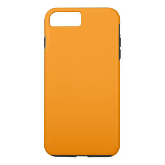 ORANGE PEEL (solid fruity colour) ~ iPhone 8 Plus/7 Plus Case