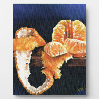 Orange, Peeled Plaque