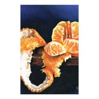 Orange, Peeled Stationery